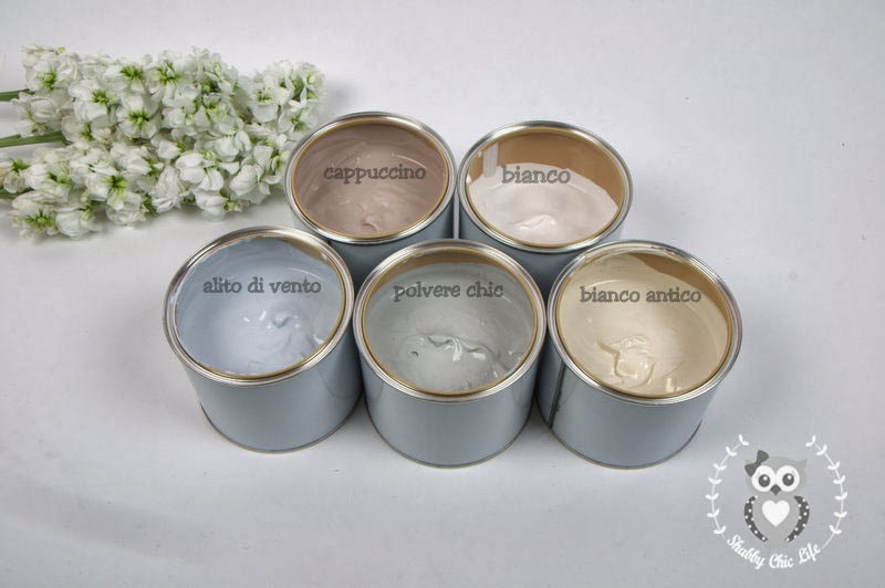 vernice per shabby chic Decora Facile, chalk paint