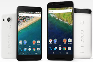 Google's Huawei Nexus 6P, smartphone, phablet