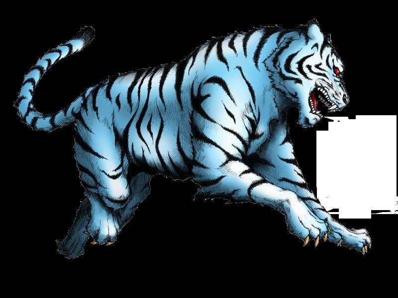 4 Dewa Mata Angin, macan byako, cerita 4 penjuru angin