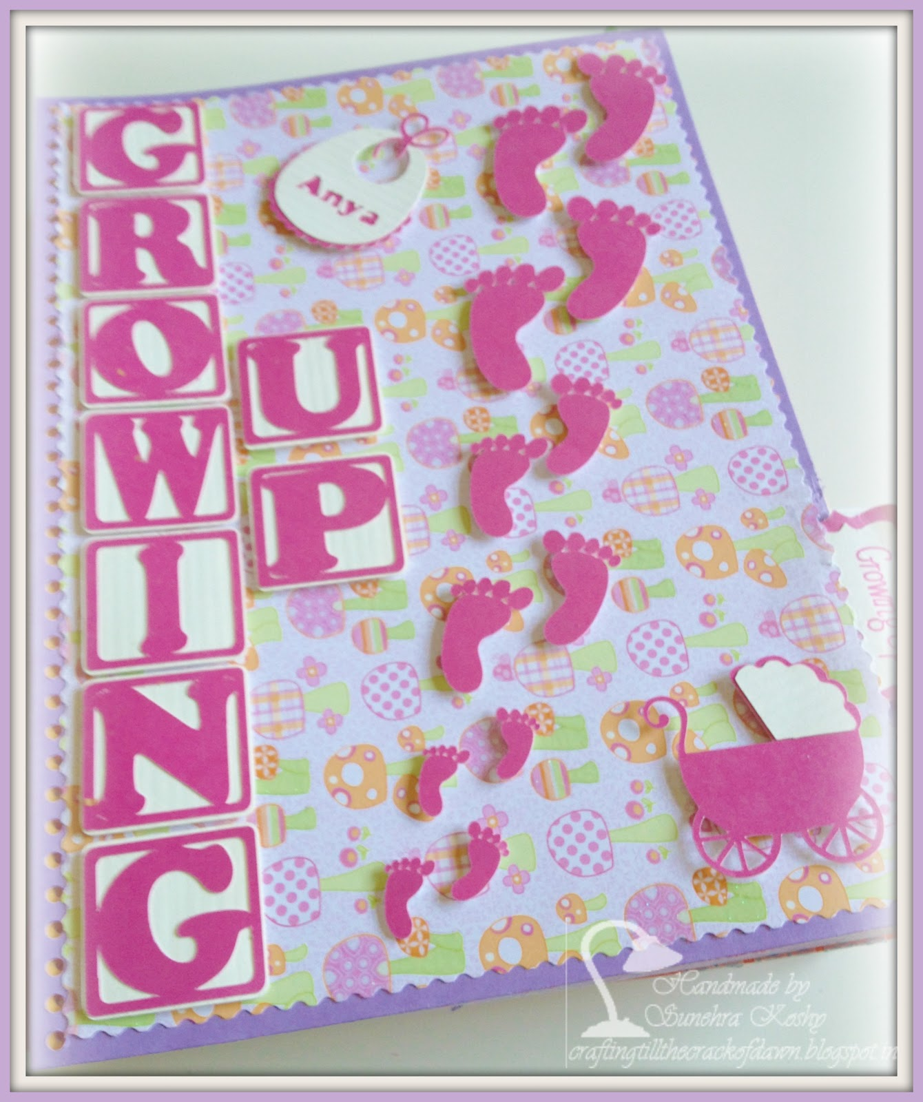 Crafting Till The Crack Of Dawn Baby Is Growing Up Scrapbook Pages