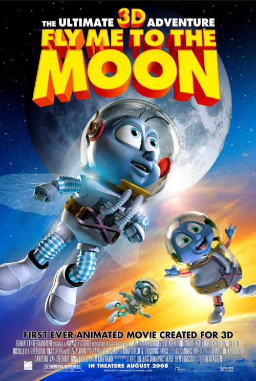Fly me to the moon (Vamos a la luna) (2008) Español Latino