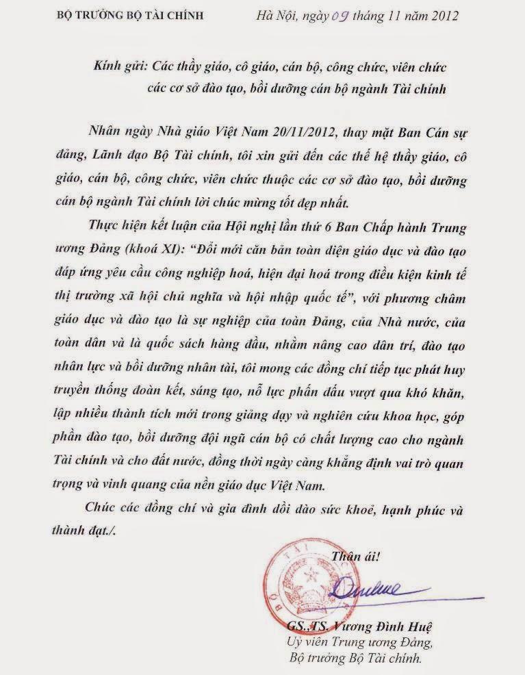 Tổng cục Thuế mít tinh kỷ niệm ngày Nhà giáo Việt Nam 20/11