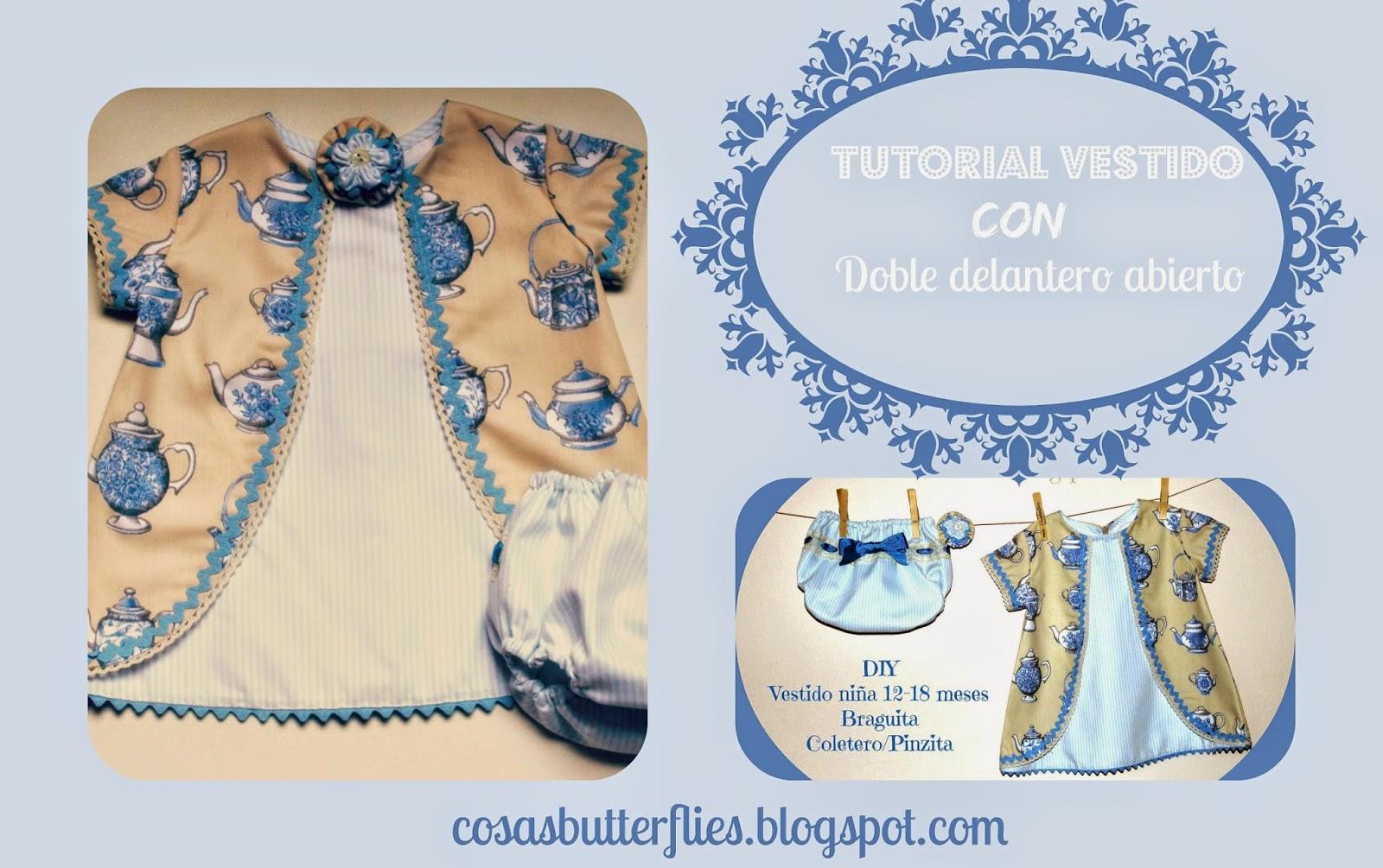 Tutorial vestido teteras
