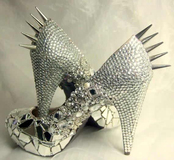 Custom Bridal Shoe Designs by TLC Creations