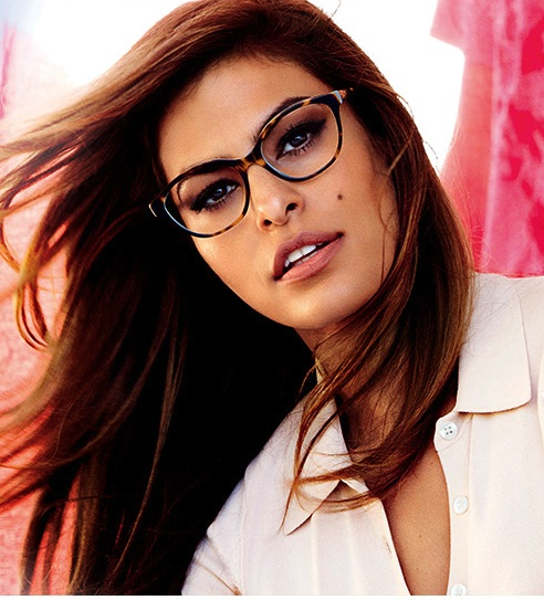 trendy optical glasses  Similiar Eva Mendes Vogue Eyewear Keywords