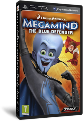 Megamind El Defensor azul [Full] [1 link] [Espa�ol] [PSP] [FS]