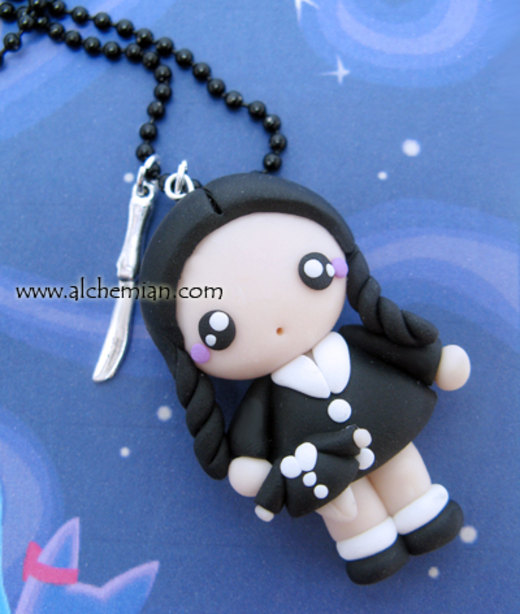 Wednesday necklace por AlchemianShop