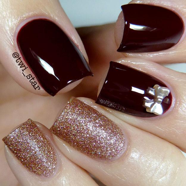 twi-star | Nail Art Blog: Vampy nails! Using Polish My Life Pom Pom ...