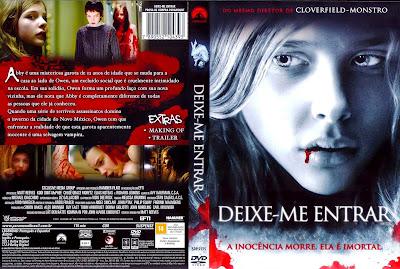 Deixe-me Entrar DVD Capa