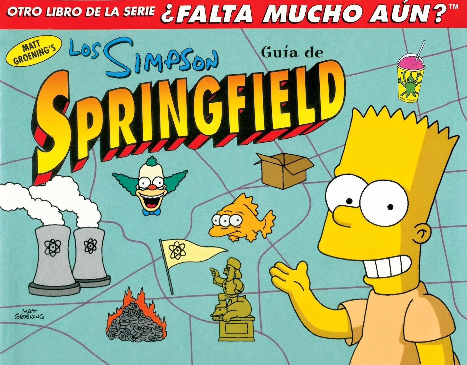 Los Simpson Guía de Springfield