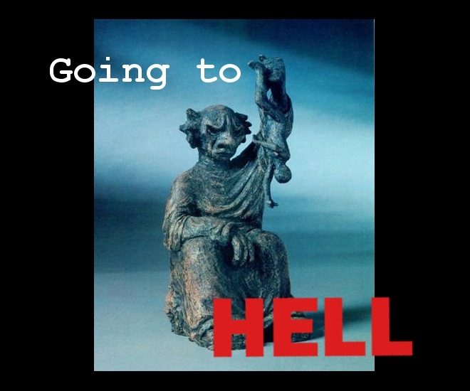 Going to Hell - My Journey Into Hell