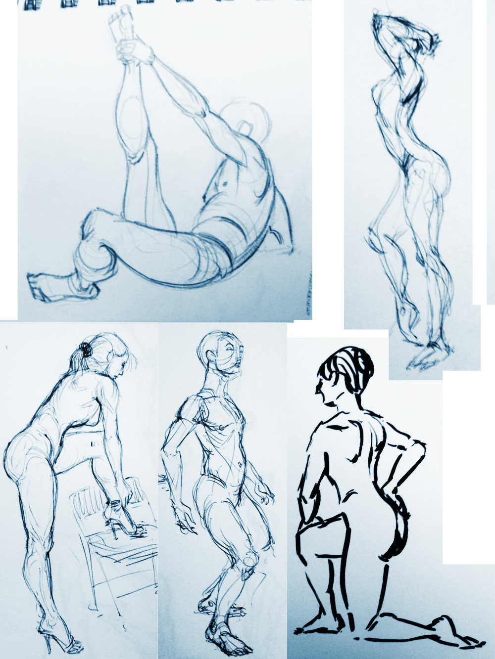 Zach Mekelburg  Figure Drawing