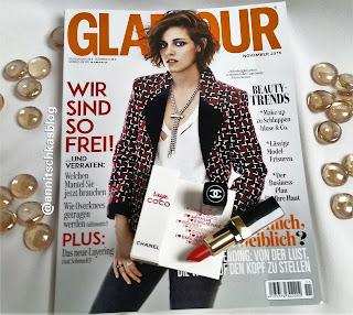 Glamour - Chanel Lippenstift Miniatur - www.annitschkasblog.de