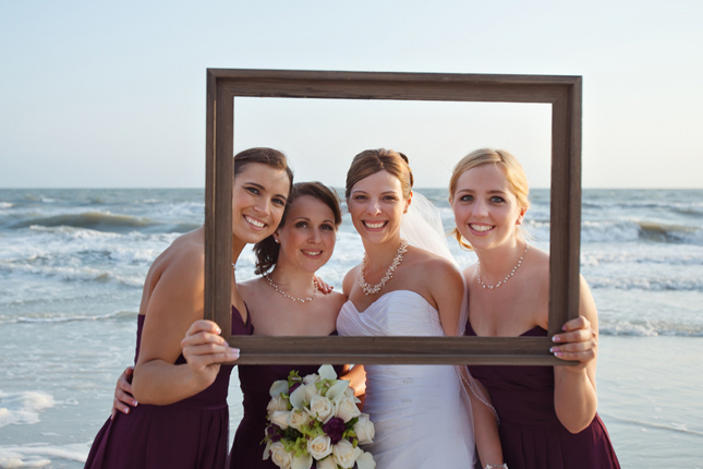 Frames As Props Wedding Ideas Belle The Magazine