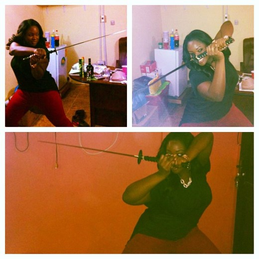 Photos: Checkout Toolz  'Samurai' skills.