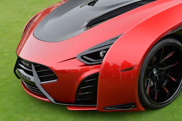 Supercarro Laraki Motors epítome Concept de US $ 2 milhões