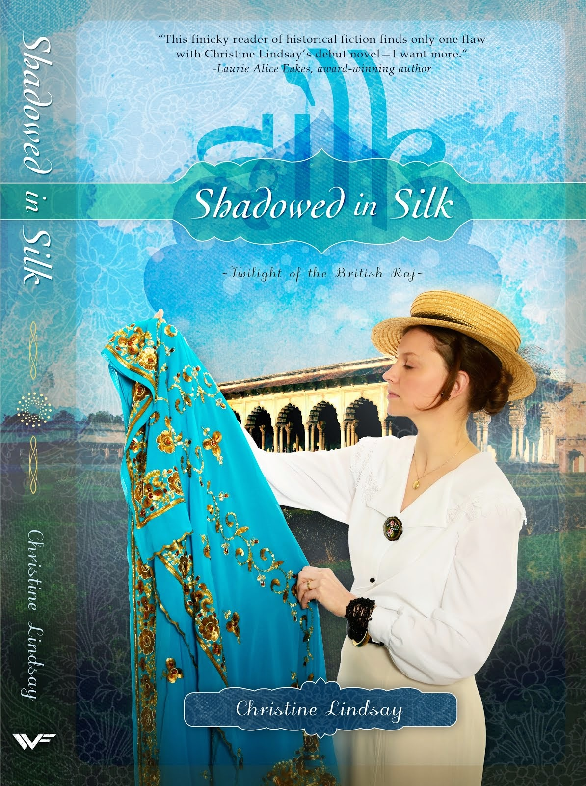 SHADOWED IN SILK, Book 1 of series Twilight of the British Raj