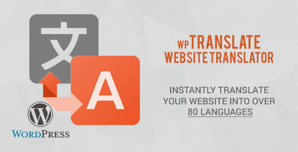 wpTranslate v1.1 – Website Translator WordPress Plugin