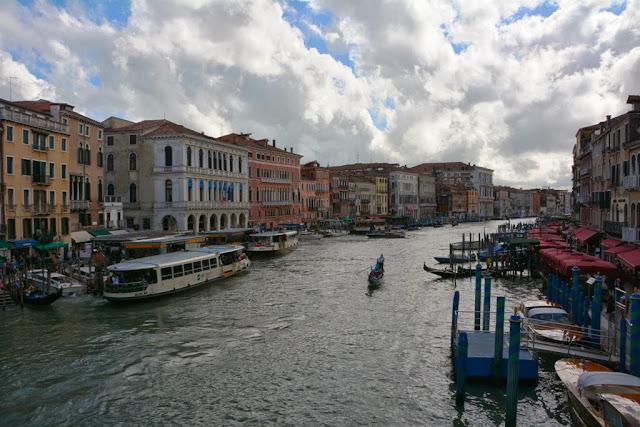 Rialto Bridge Venice Canal Grande