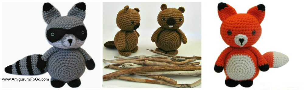 Amigurumi Woodland Animal Patterns Free ~ Amigurumi To Go