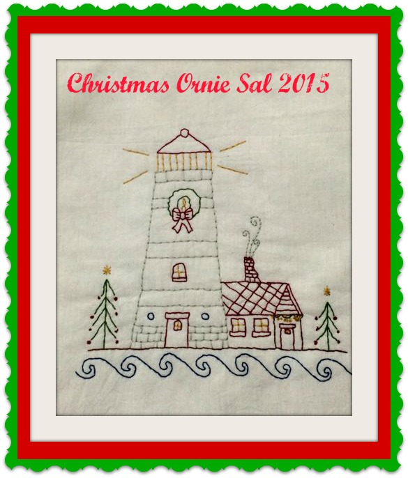 Christmas Ornie SAL 2016