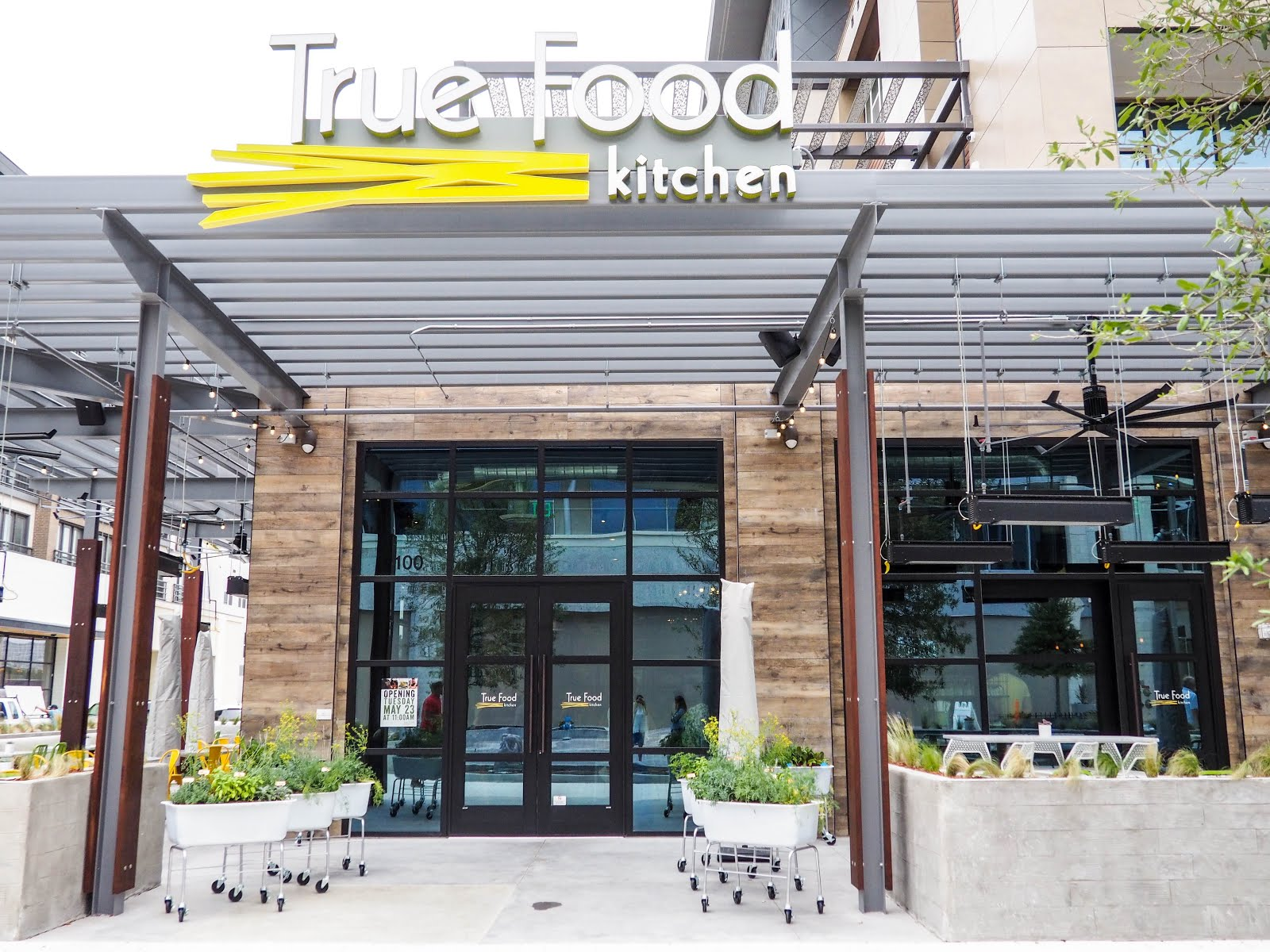 True Food Kitchens Newest Location at Legacy West Finding Dallas