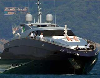 Details on Roberto Cavalli R.C.'s Yacht