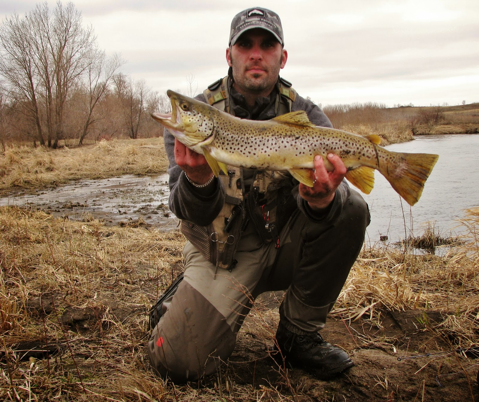 Mahigan outdoors april all about trout for Trout fishing mn