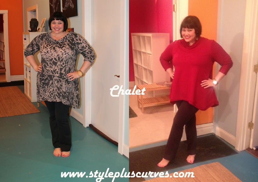 Amber from Style Plus Curves in Chalet Plusize Tunics