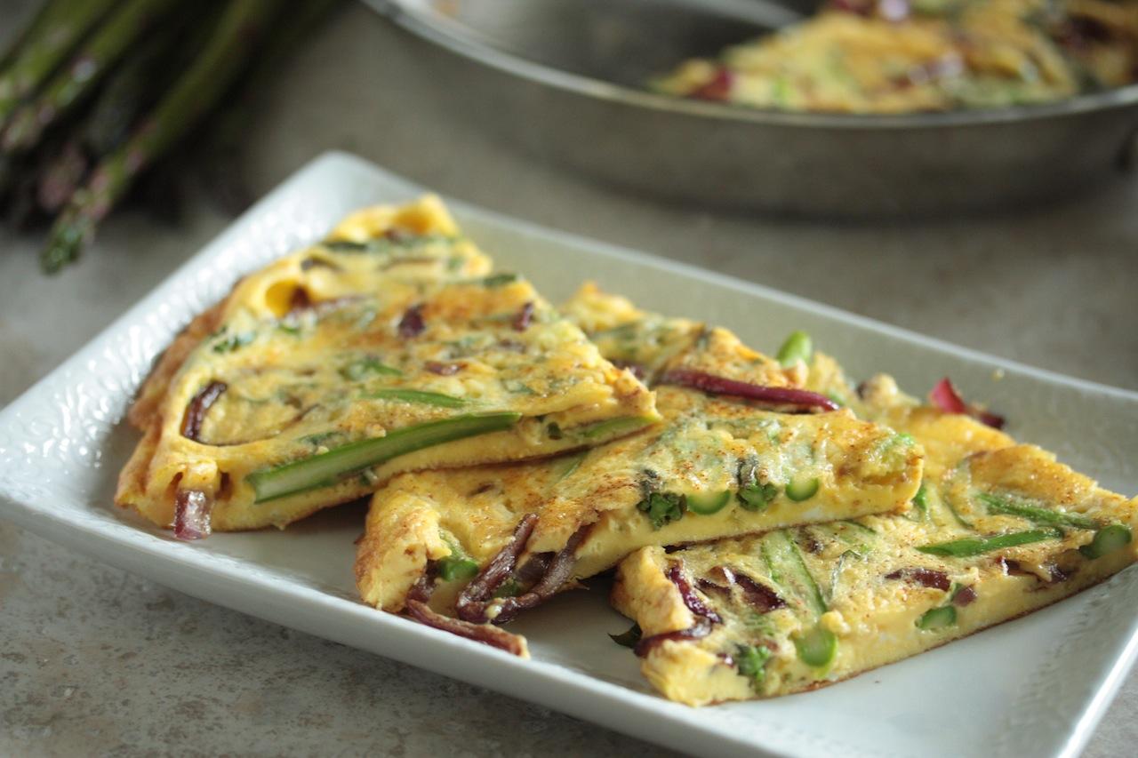 STAR Fine Foods: Asparagus and Balsamic Glazed Onion Frittata