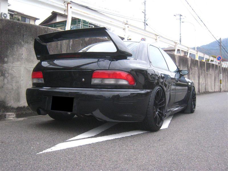 Subaru Impreza I, japoński sportowy sedan, boxer, AWD, turbo, tuning, JDM