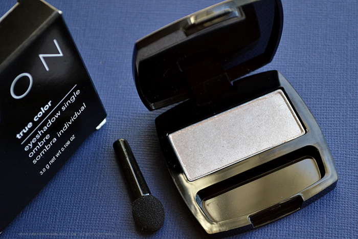 Avon True Color Eyeshadow Single Champagne - Photos Swatches Review FOTD