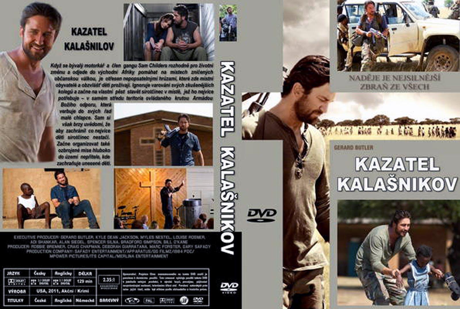 Kazatel Kalasnikov Machine Gun Preacher DVD Cover