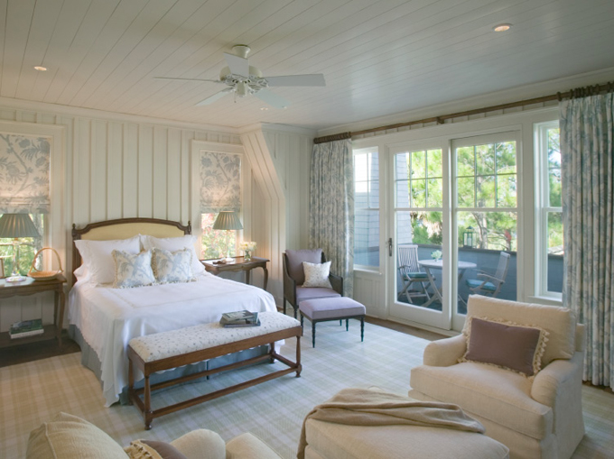 Beach House Bedroom Decorating Ideas: Hydrangea Hill Cottage: Board And Batten Interiors