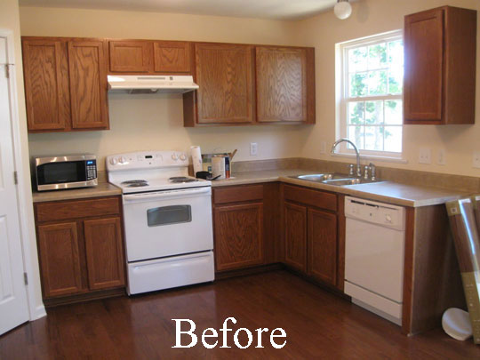 Oak kitchen cabinet makeover ideas 2017 kitchen design ideas for Can you paint formica kitchen cabinets