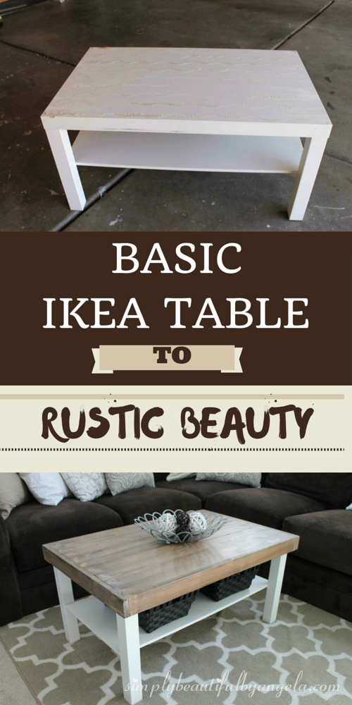ikea table makeover take two. Black Bedroom Furniture Sets. Home Design Ideas