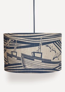 http://www.minimoderns.com/product/whitby-linen-lampshade-washed-denim