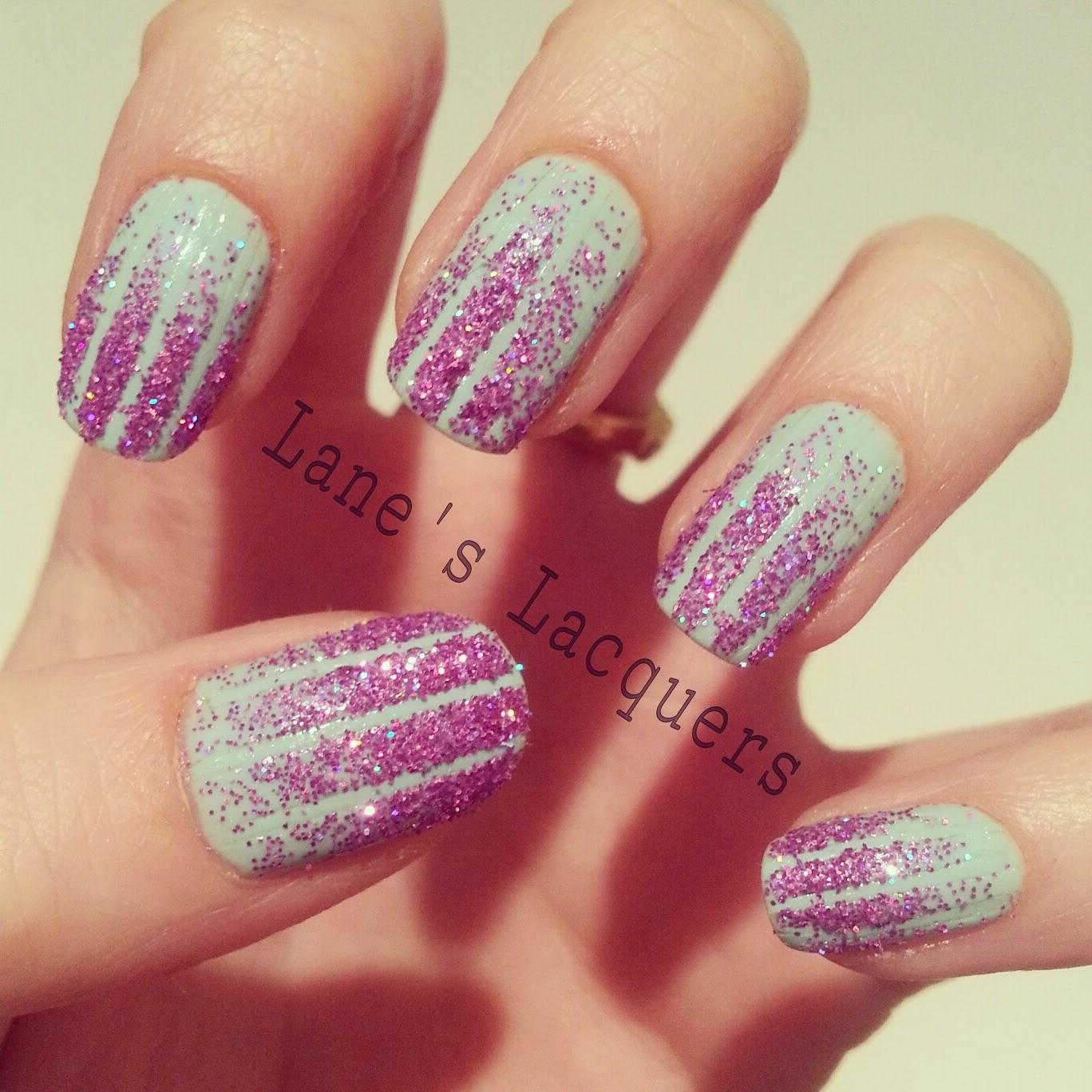 ciate-prima-ballerina-glitter-gradient-tape-nail-art