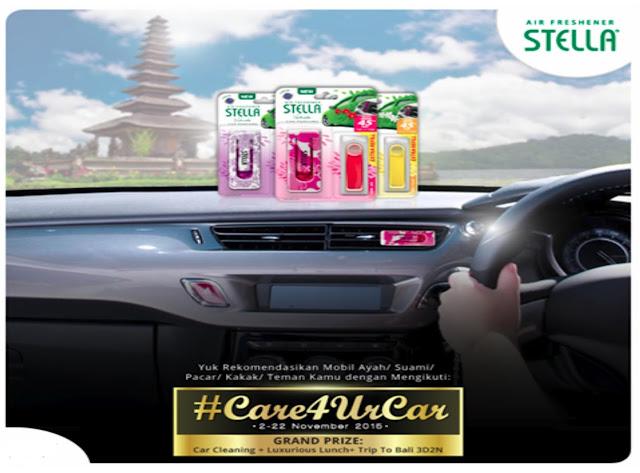 Pemenang Stella #Care4UrCar