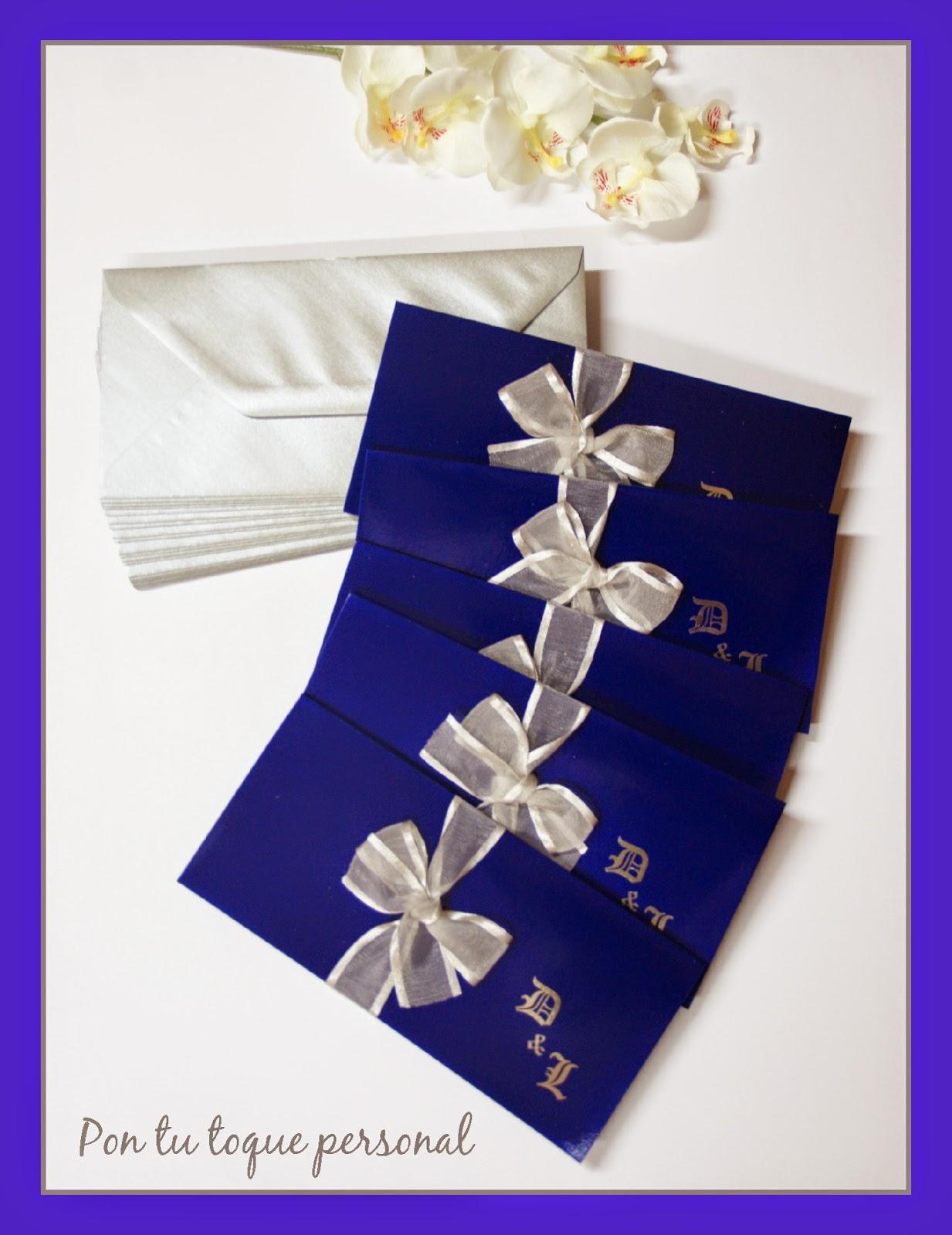 Pon tu toque personal invitaci n para una boda de cuento - Decoraciones en color plata ...