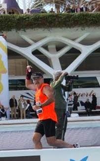 aplegada marató VALENCIA km 42.