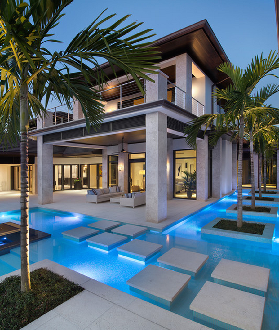 Lookandlovewithlolo some very cool pools for Luxury homes usa