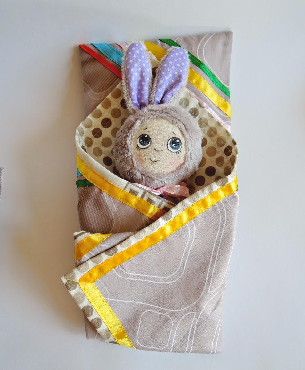зайка в одеяле