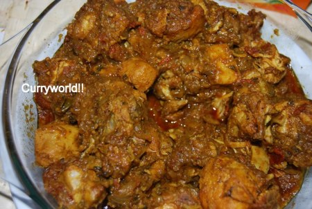 Indian Recipes. World Recipes. Healthy Recipes: Fried Chicken Curry