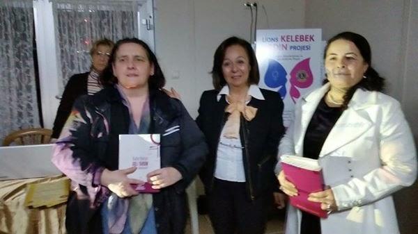 Lions 118 Y Kelebek Kadın Projesi'neSunduğumuz Destek Kapsamında Düzenlenen GeceVeTakdir  Belgesi
