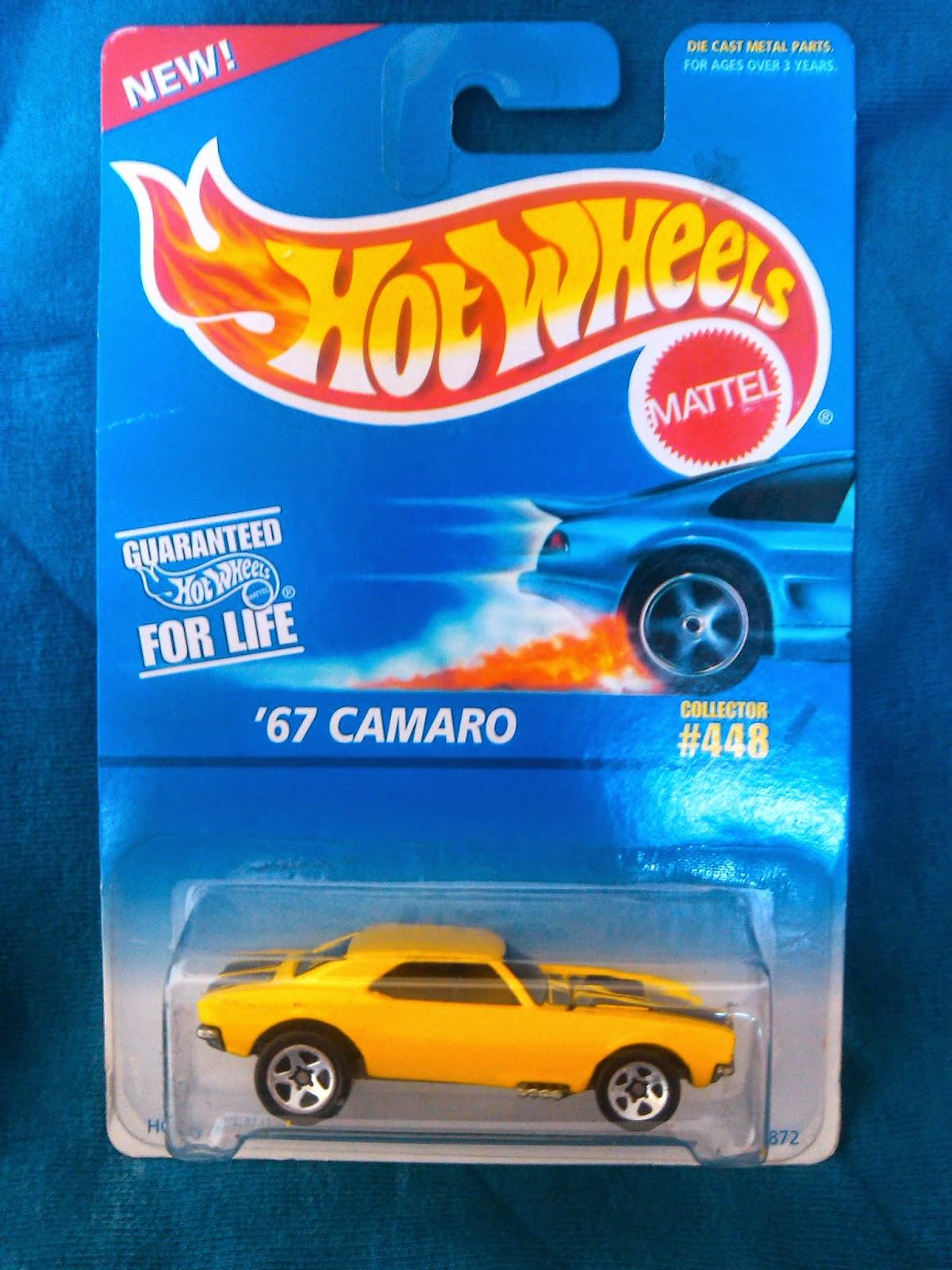 Colección Chevrolet Camaro en Blister '67+Camaro+1997+Hot+Wheels+%23448+No+Country+Base+5SP's