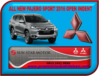 MITSUBISHI ALL NEW PAJERO SPORT OPEN INDENT