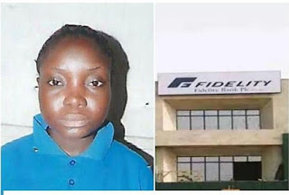 Fidelity Bank Charges Former Staff For Stealing (Pictured)