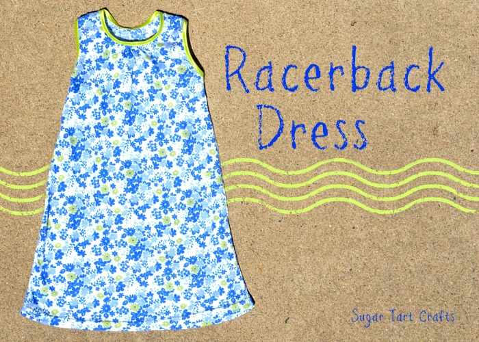 Crafterhours Racerback Pattern sewn by Sugar Tart Crafts