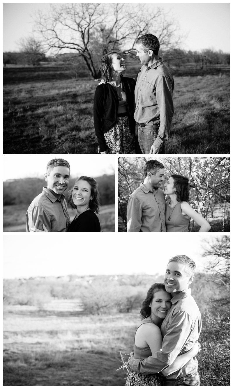 Picnic Themed Engagement Portrait Session at Arbor Hills Nature Preserve in Plano, Texas by Mary Cyrus Photography